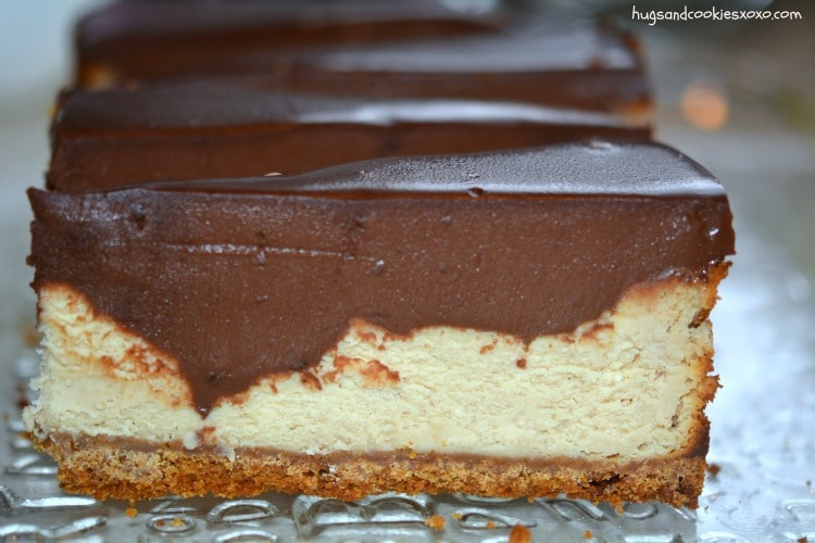 pb cheesecake slices