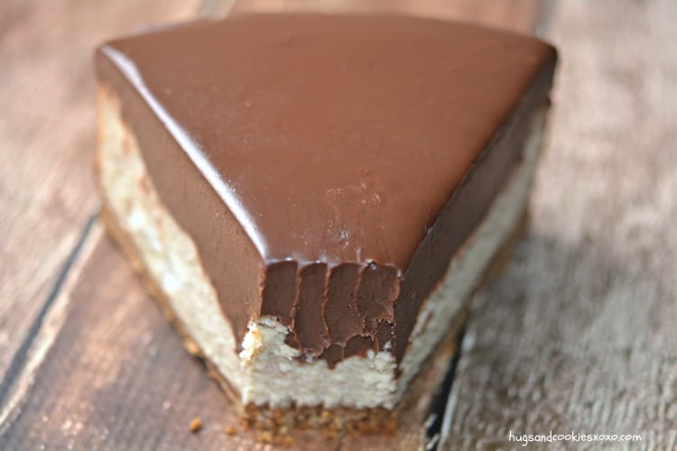 peanut butter chocolate ganache cheesecake