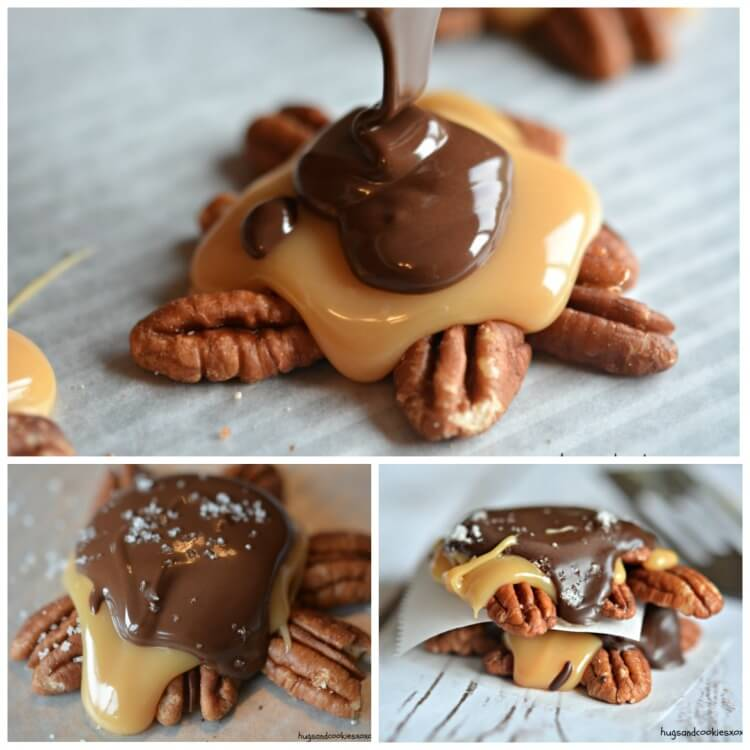 Toasted Pecan Turtle Clusters Hugs And Cookies Xoxo