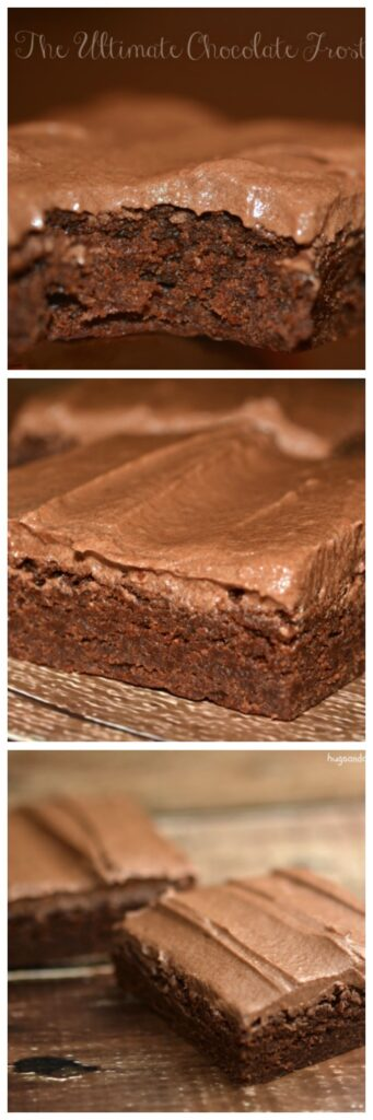brownies frosted