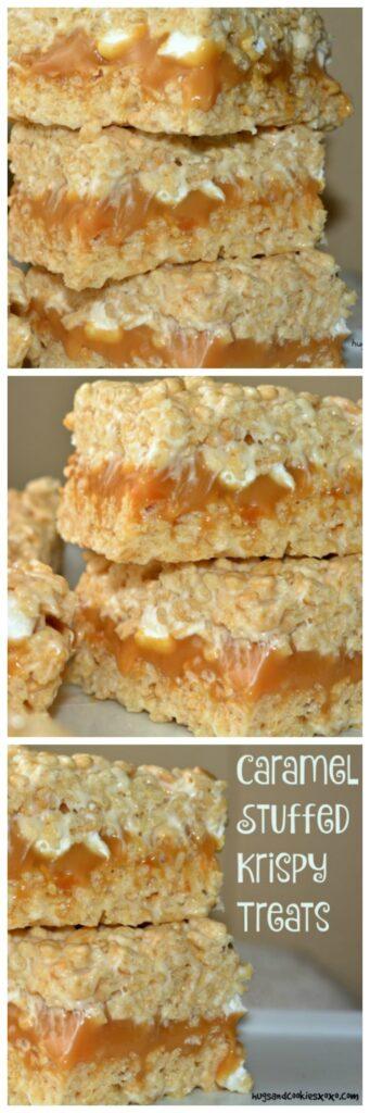 caramel bars krispy