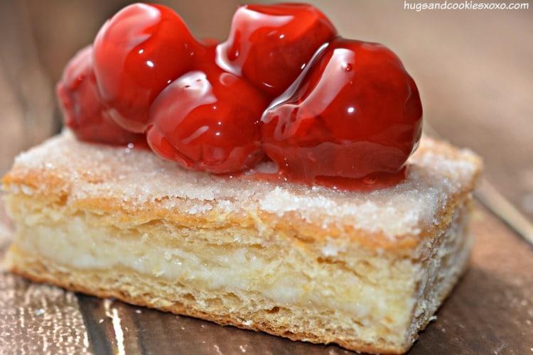 cherry crescent cheesecakes