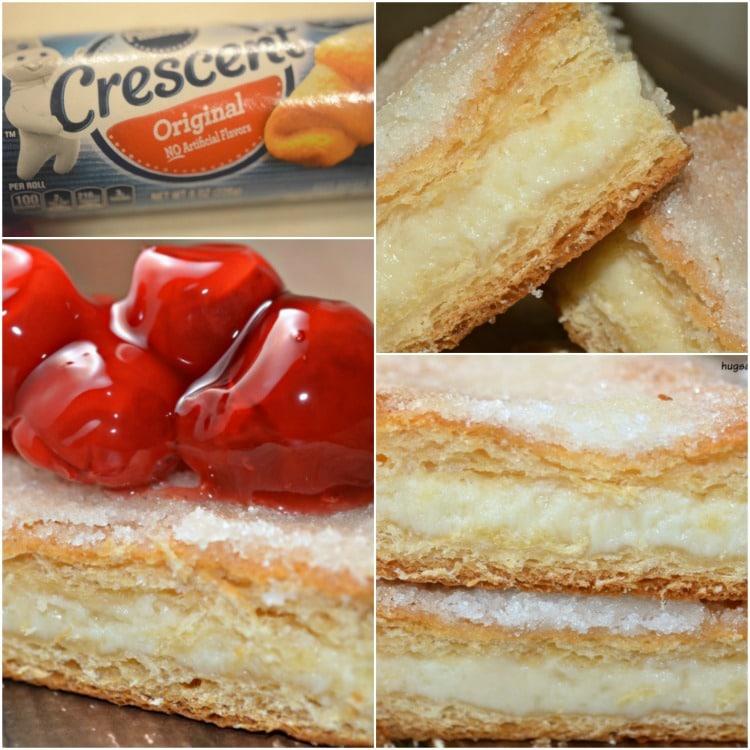 crescent cheesecakes