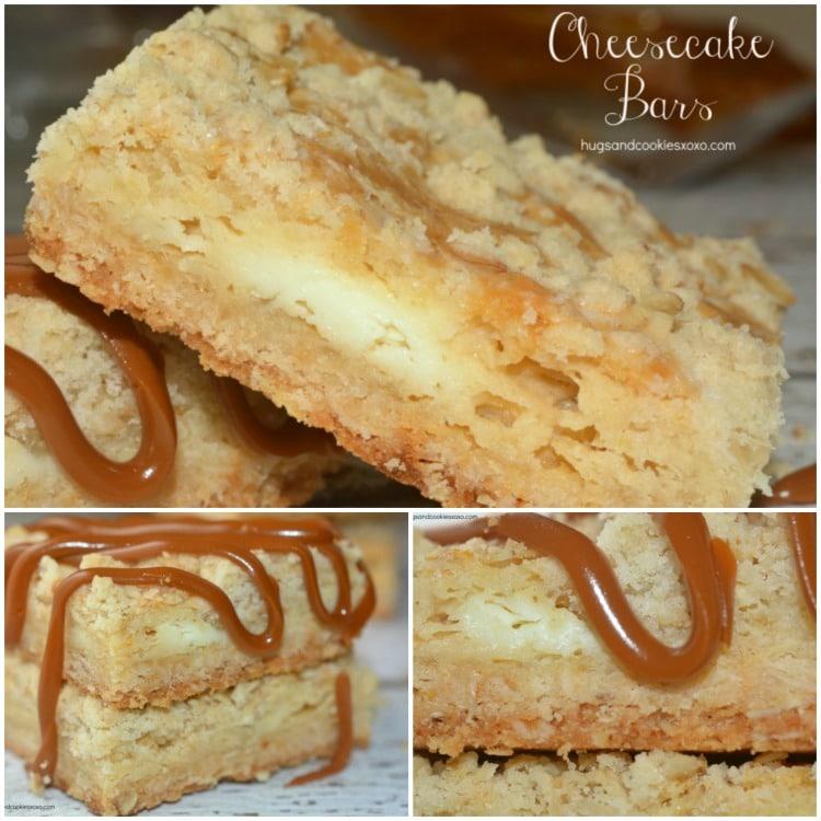 cheesecake stuffed oat bars