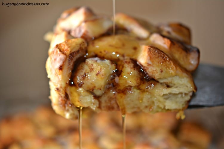 brunch cinnamon roll syrup