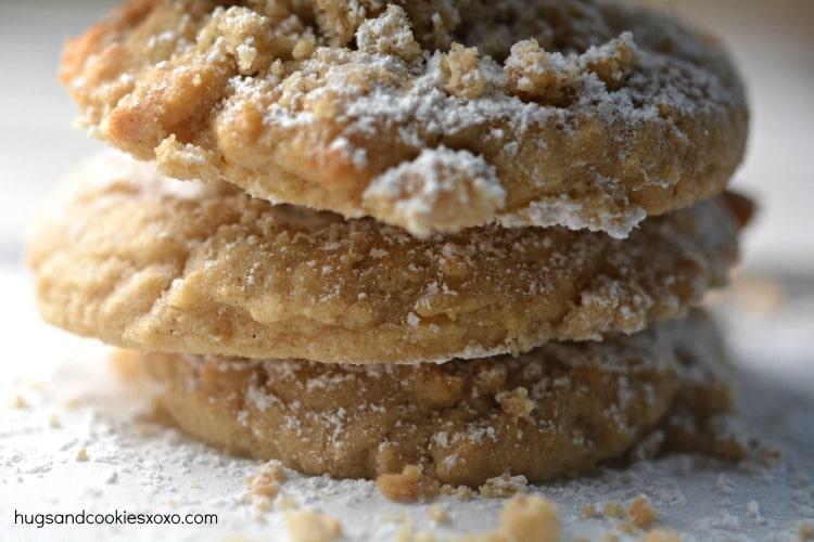 coffee cake cookies crumbs