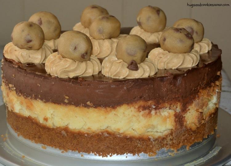 cookie dough ganache cake