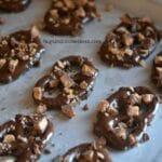 Heath Bar Pretzels