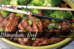 P.F Chang Copycat Mongolian Beef