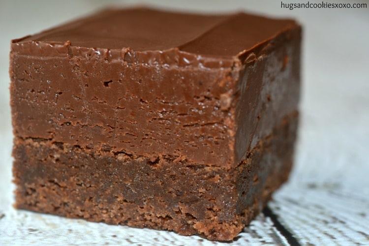 nutella brownie fudge
