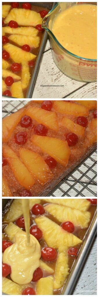 pineapple cakes cherries