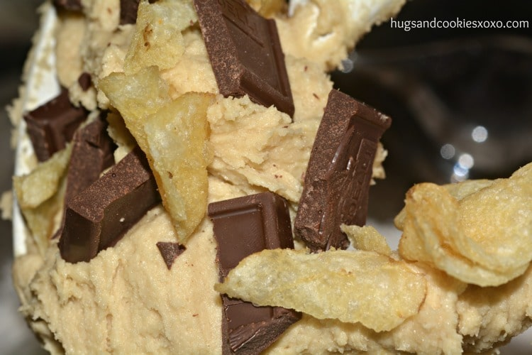 potato chip cookie dough