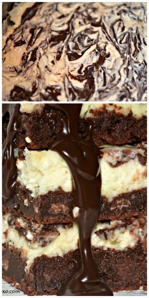 cheesecake brownies secret