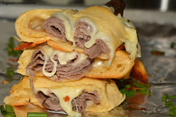french dip cheesy