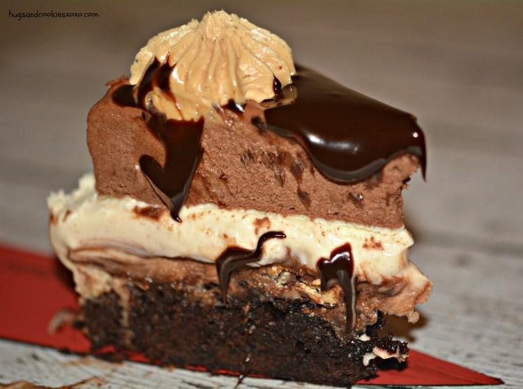 mousse cake fudge