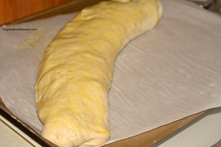 pepperoni dough