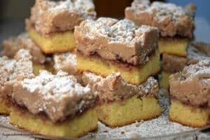 Raspberry Shortcut Crumb Cake