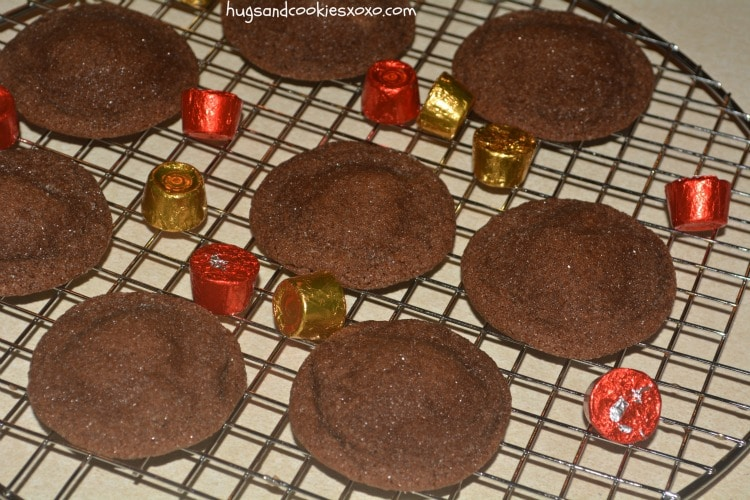 rolo cookies stuffed