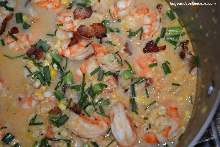 shrimp corn chowder soup