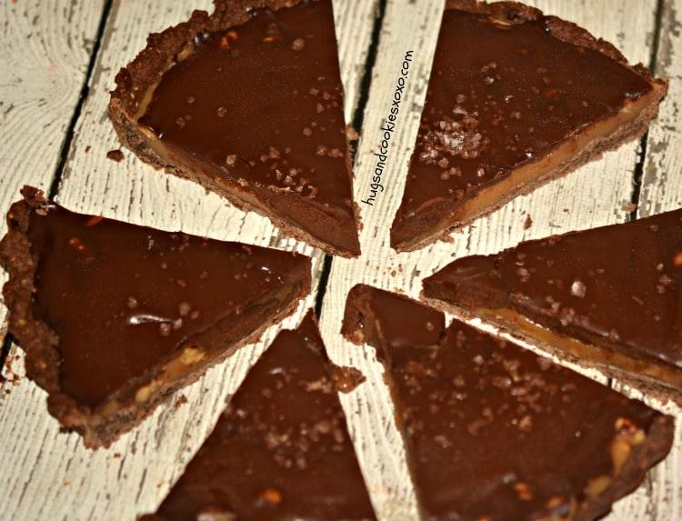 almond tart slices
