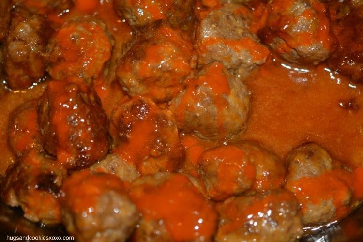 buffalo hot meatballs