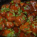 Honey Buffalo Meatballs