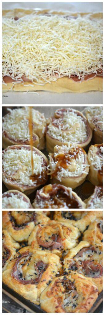 prosciutto rolls cheese