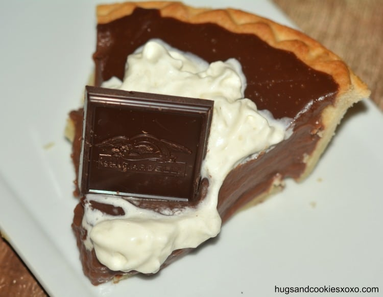 pudding pie slice