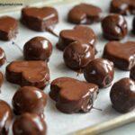 Double Chocolate Peanut Butter Cookie Dough Truffles
