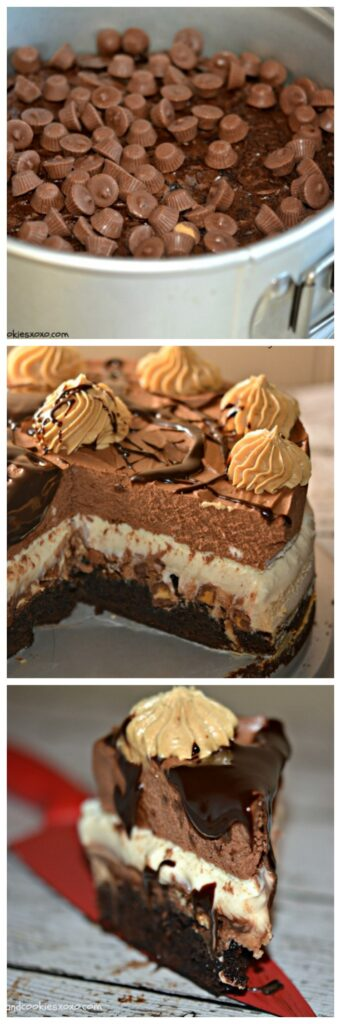 reeses mousse cake