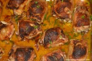 Aunt Paulie's Buttery Paprika Chicken