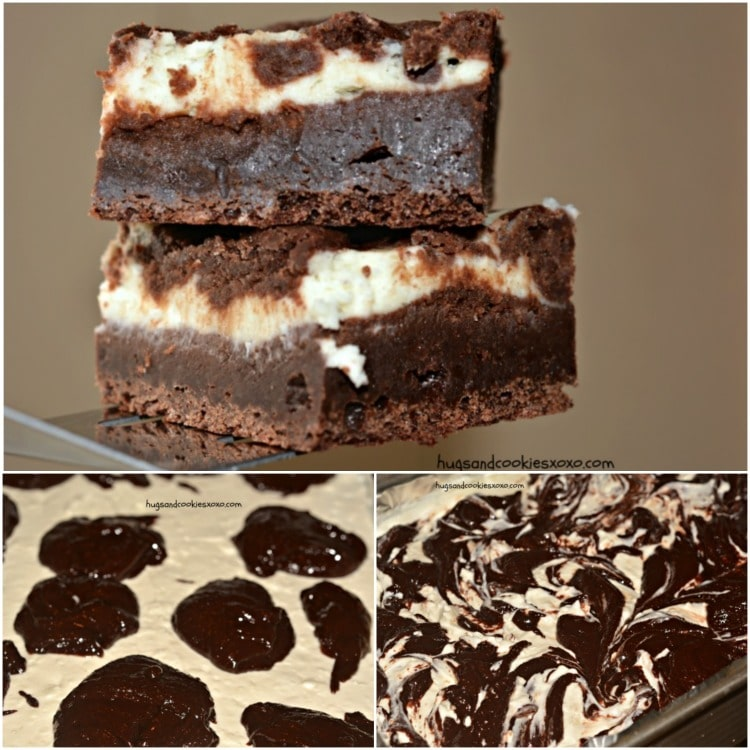 cheesecake fudgy brownies