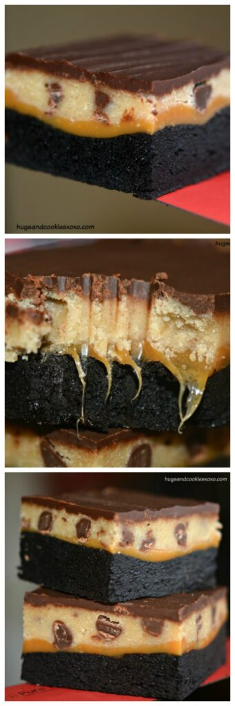 cookie dough bar brownie