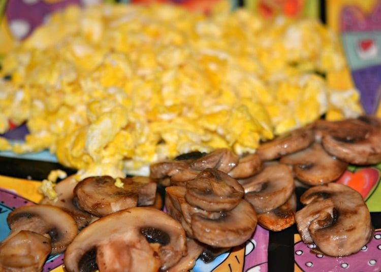 rice mushrooms