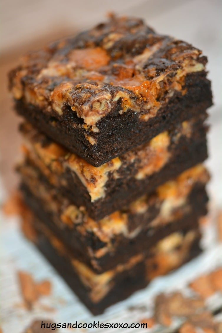 Butterfinger Cheesecake Bars Hugs And Cookies Xoxo