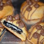 Oreo Stuffed Crescent Rolls