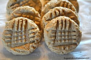 Old School Peanut Butter Cookies