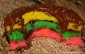 The Tri-Color Cookie Donut