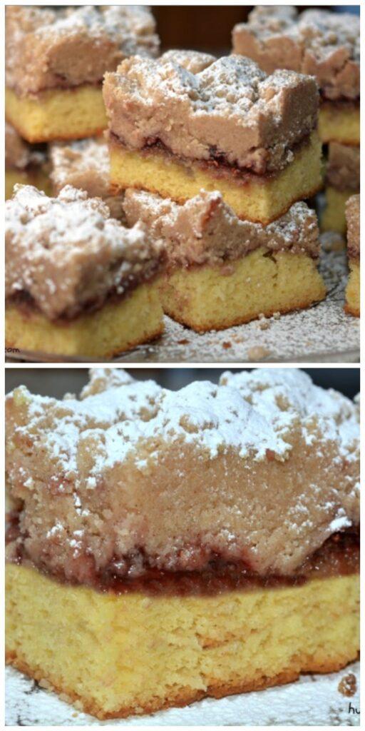 raspb bars crumb cake