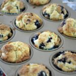 Secret Ingredient Blueberry Muffins