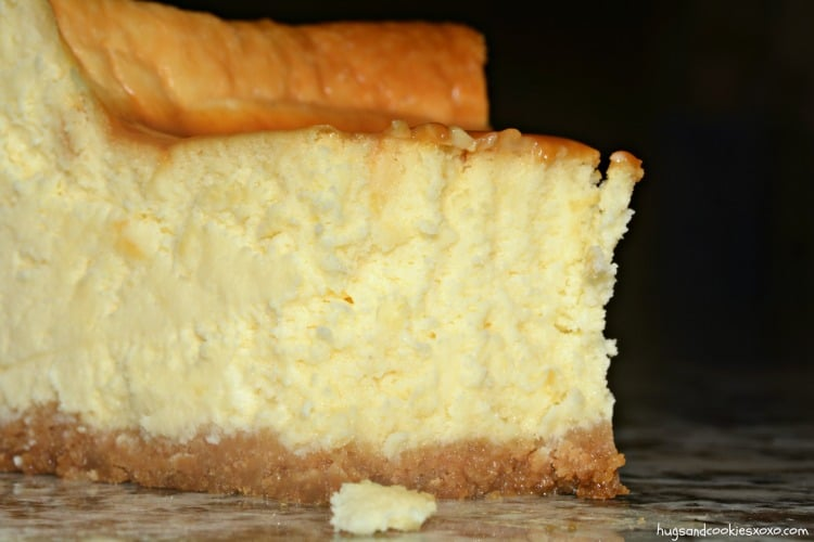 caramel crust cheesecake