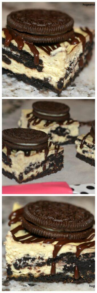 oreo cheesecake square bars