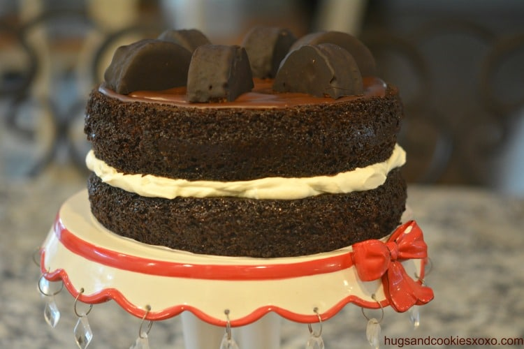 ring ding cake cream