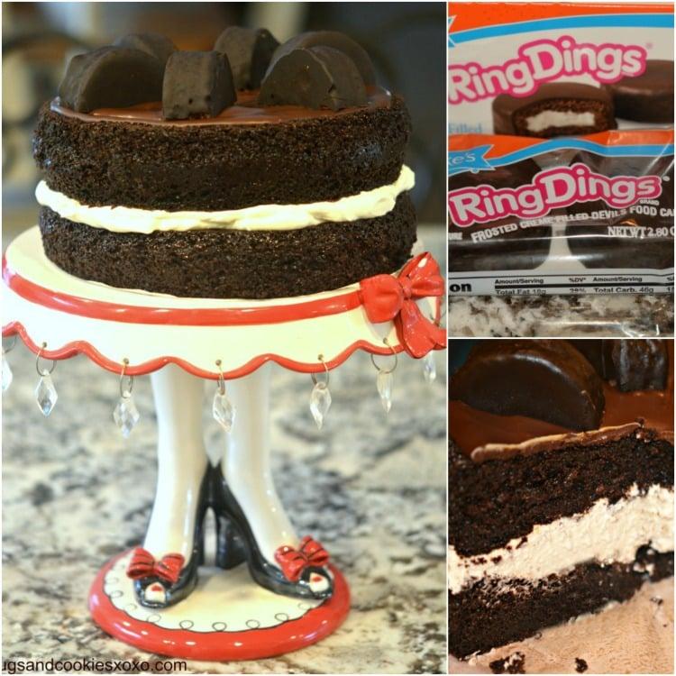 ring ding cake creamfilled