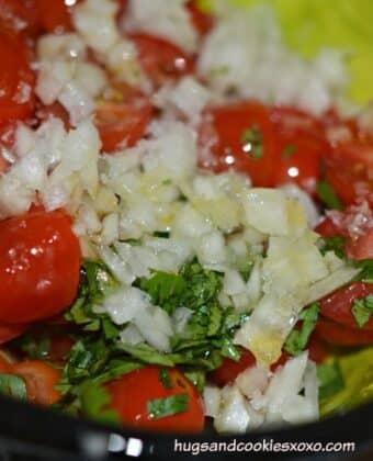salsa fresca tomato