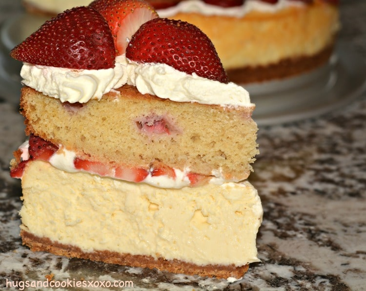 strawberry shortcake slice
