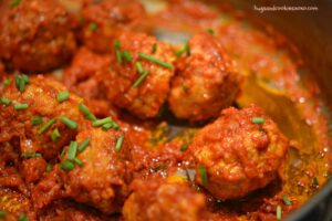 The Best Chicken Meatballs Ever!