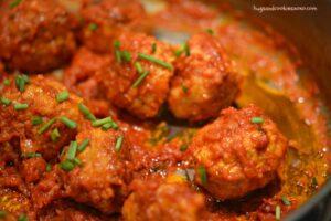 The Best Chicken Meatballs Ever!