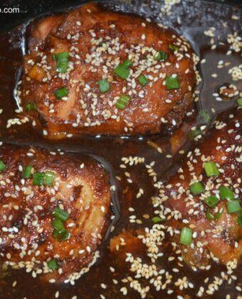 chicken honey garlic