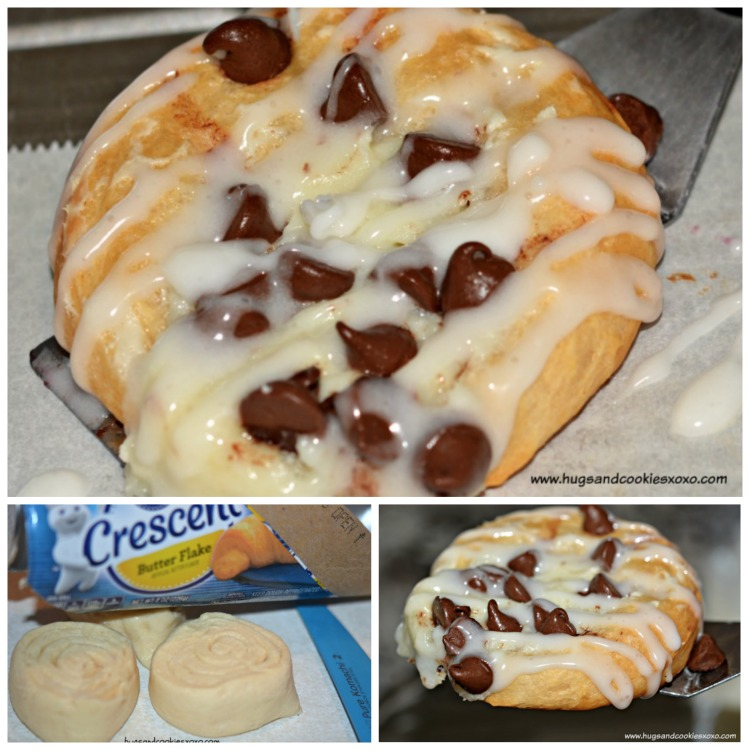 choc chip cheese danish